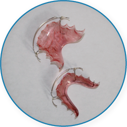 2 pink Hawley Retainers